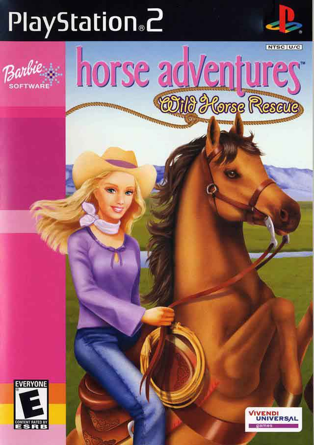 Barbie Horse Adventures Game for PS2 Xbox 360 amp Gameboy