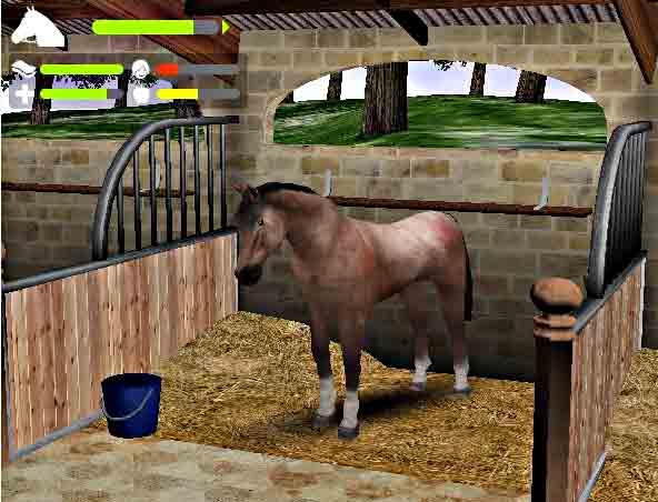 horse spiel