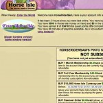 Horse isle game for PC & MAC