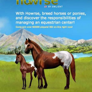 Howrse game for PC & MAC