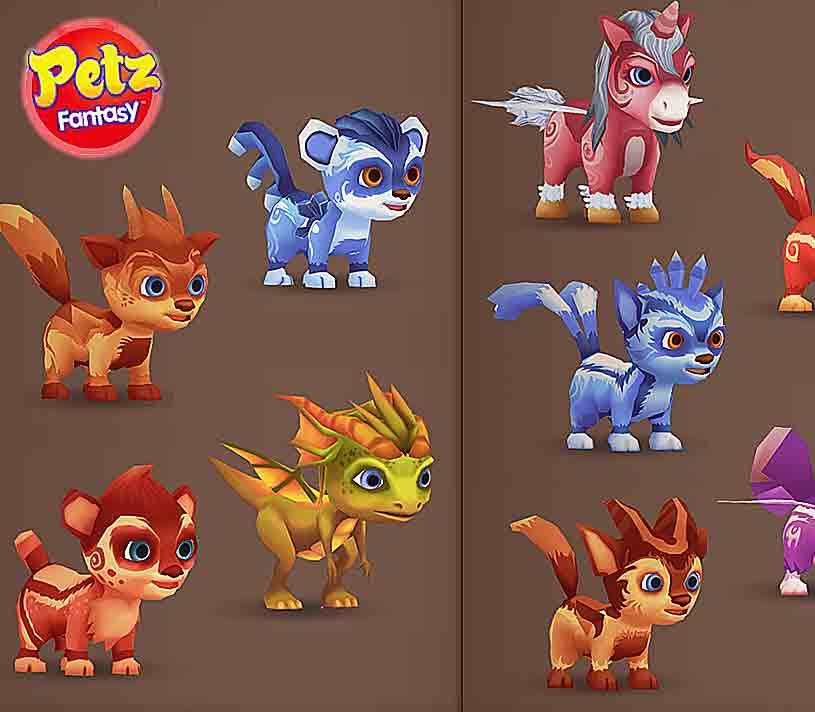 Petz Fantasy 3d For Nintendo 3dshorse Games