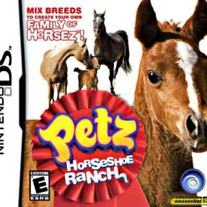 Petz Horse shoe Ranch Nintendo DS game
