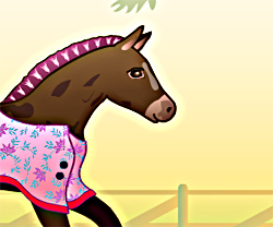 Baby Horse Deluxe game in flash