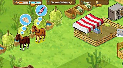 Horse Haven Facebook GameHorse Games