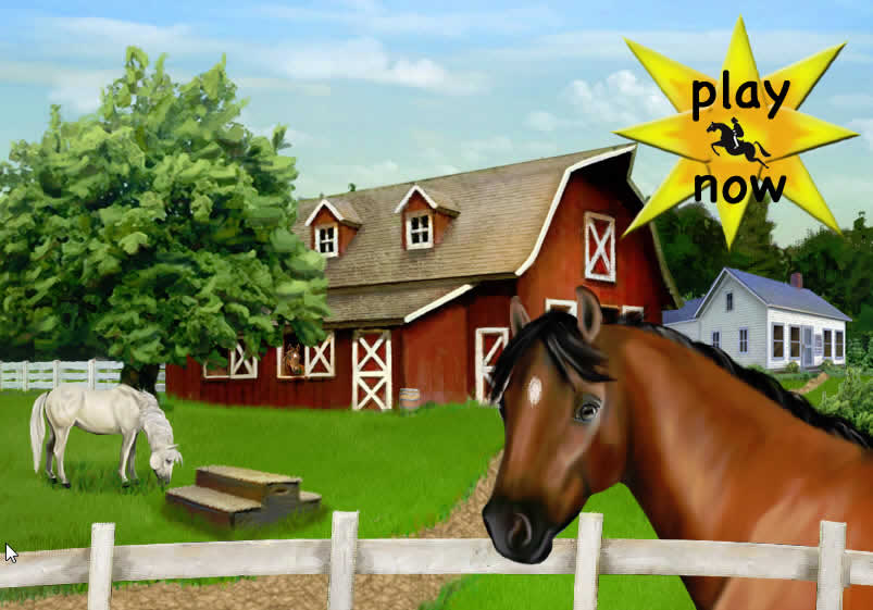 Club Pony Pals - Basic Horse Riding Flash Horse Game for younger ...