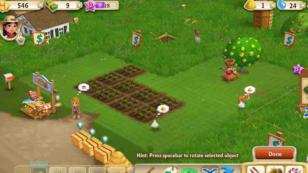 Go to https //apps.facebook.com/farmville-two/on your mac or pc to play