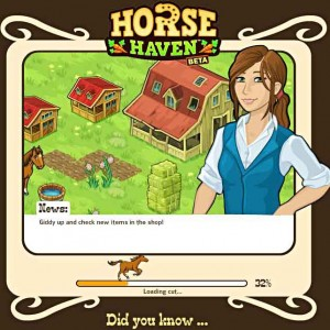 Horse haven facebook game