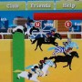 Horse racing in horse academy facebook game