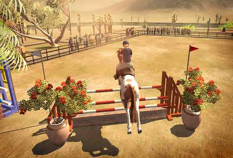 horse jumping online games