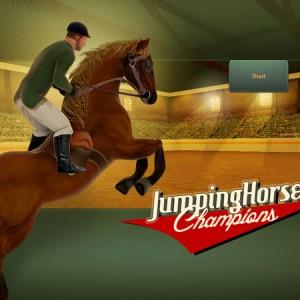 Jumping horses: Champions - Show jumping horse game iPad