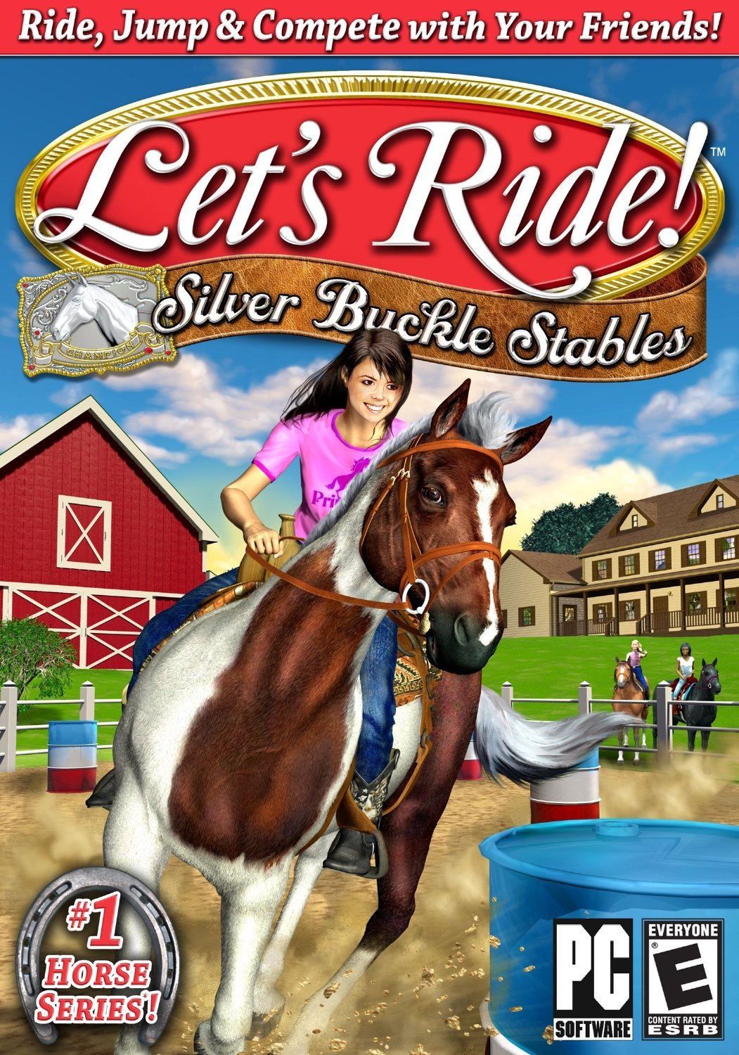 Let S Ride Silver Buckle Stables Horse Gamehorse Games