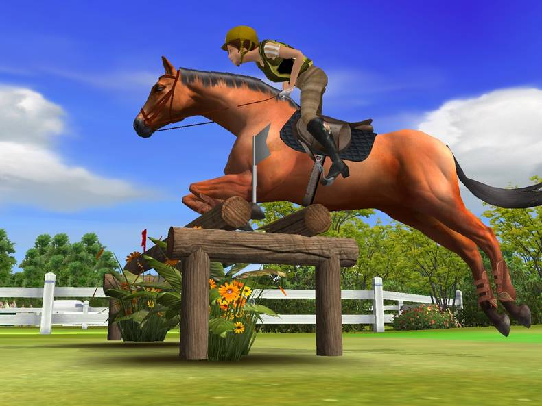 virtual horse jumping games online for free