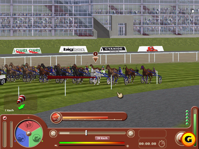free horse racing manager game