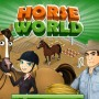 Training and grooming horses in horse world game