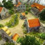 Beautiful farm houses in secret of the magic crystals game