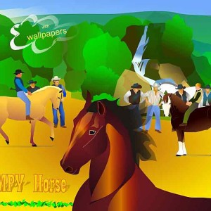 Jumpy horse game for iphone & ipad
