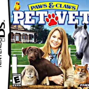 Paws and claws pet vet Nintendo DS game
