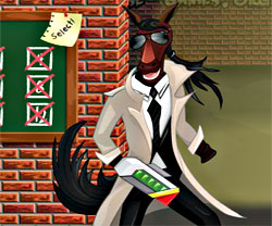 Detective Horse game in flash