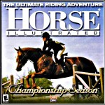 Horse illustrated championship season game for PC