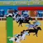 Horse racing in horse academy facebook game