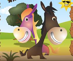 Horsey Run Run game in flash